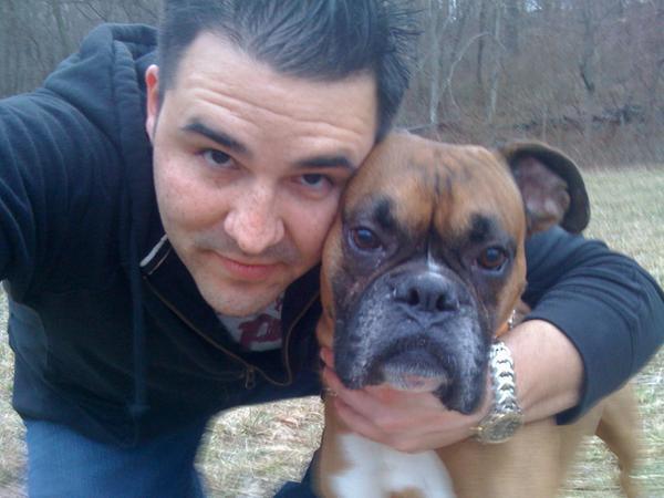 Gabe and I
