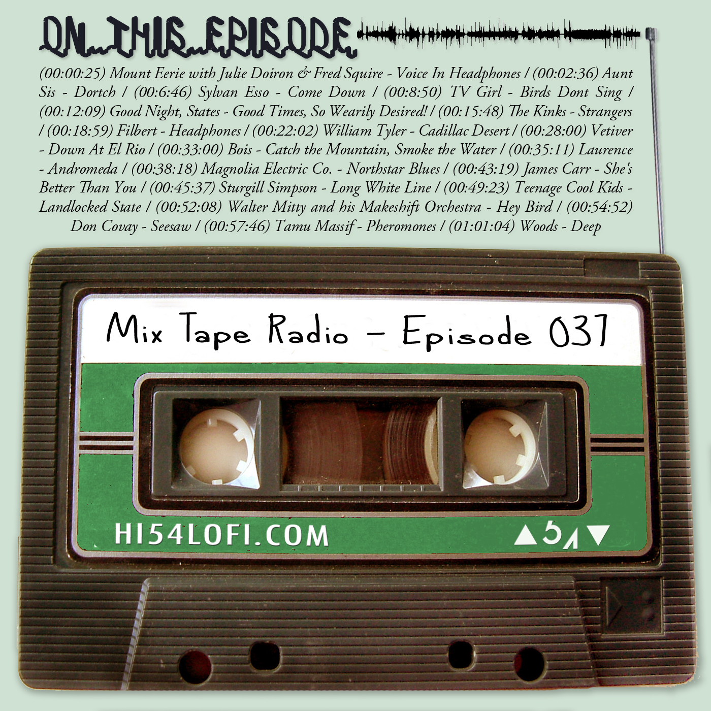 Episode 037 was put together after returning to the UK from a vacation in Spain. Back when I used to live in the UK (circa 2014). It's also the most listened to Mix Tape Radio episode ever. Do with that information what you will. - - JEREMY / @HI54LOFI