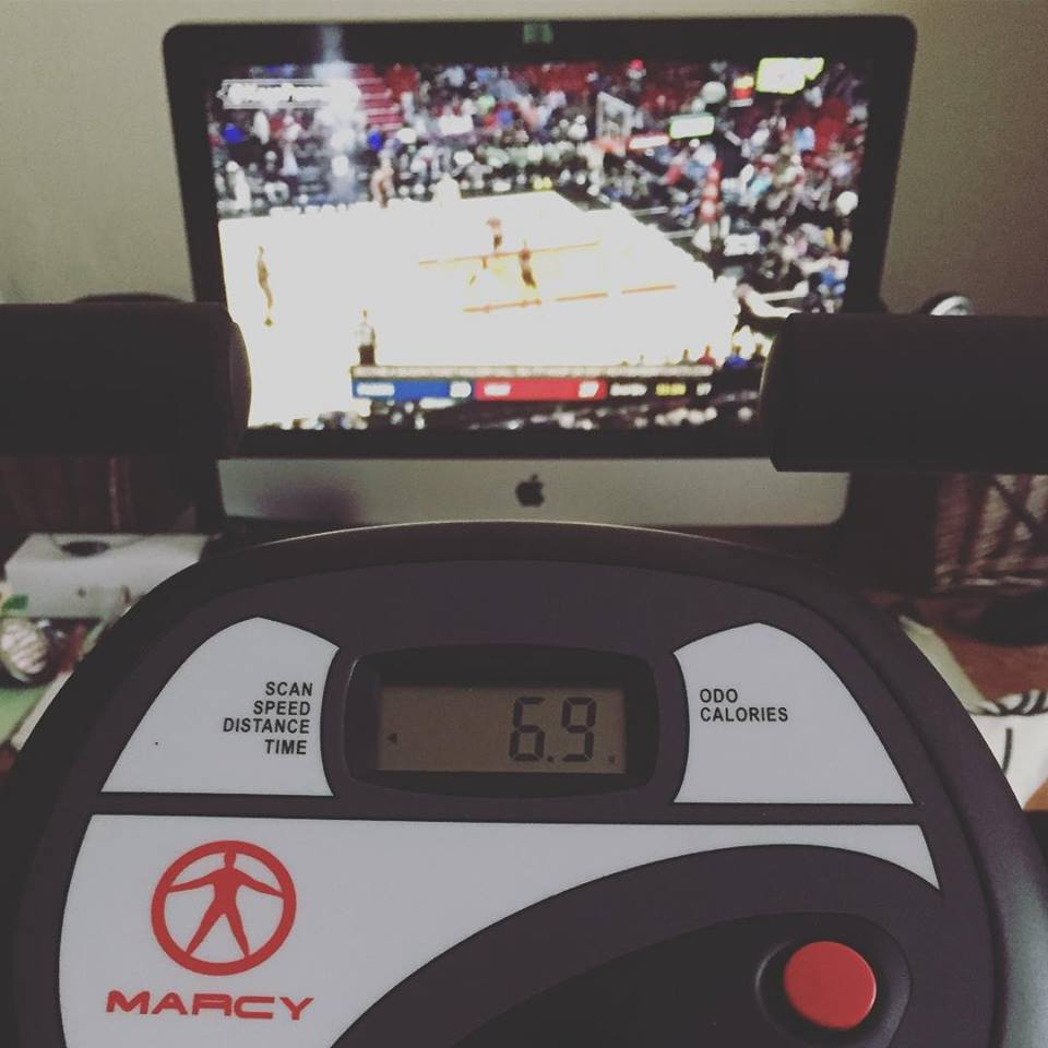 Throw this playlist on shuffle and let the music determine when you hit the pedals hard and how hard you hit them. If you're ADD like me, run some NBA highlights on Youtube in the background. - - JEREMY / @HI54LOFI