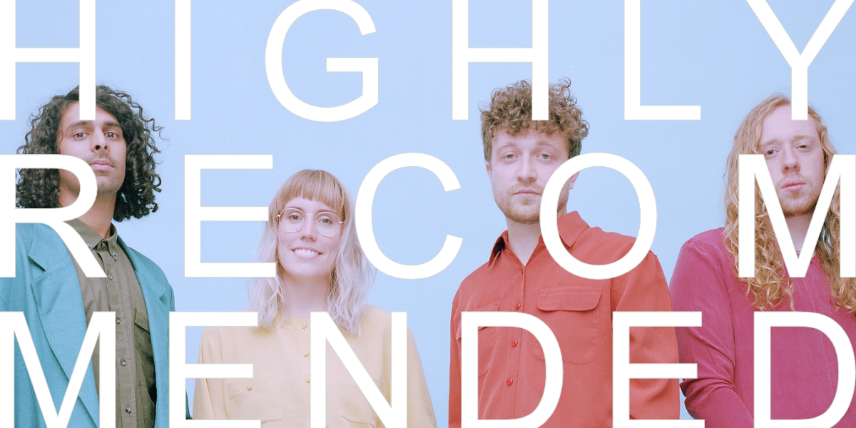 * Providing the A's to the 5 HIGHLY RECOMMENDED Q's today is    Favours    – a dreamy four-piece from Ontario who recently put out    a gorgeous video for their first single 'In The Night'    and you should go spend a minute with it once you're done with all the recs below.