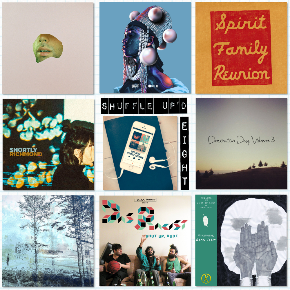 The SHUFFLE UP'D EIGHT for this week… -