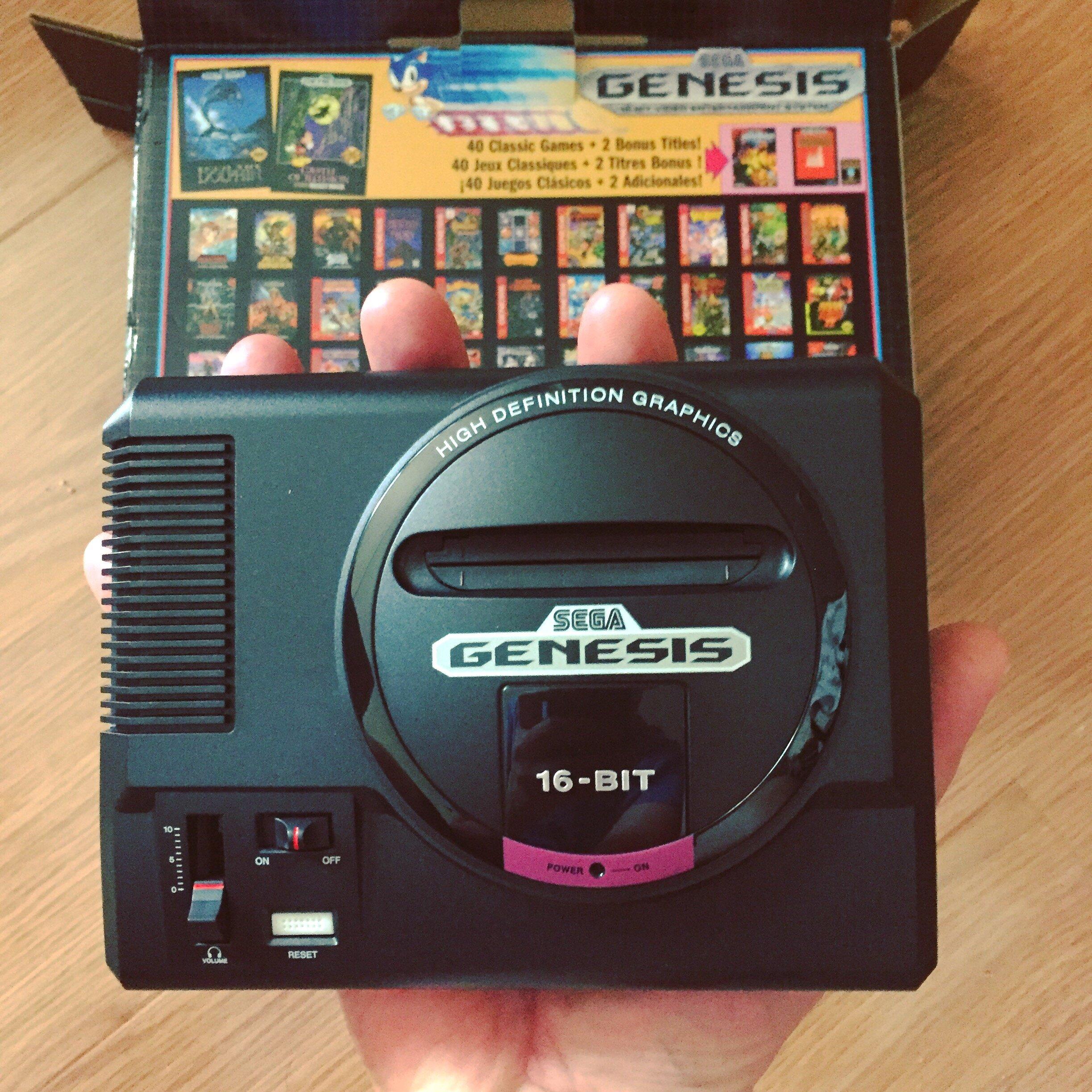 Hacking A Sega Genesis Mini For Self Quarantine Purposes High Five For