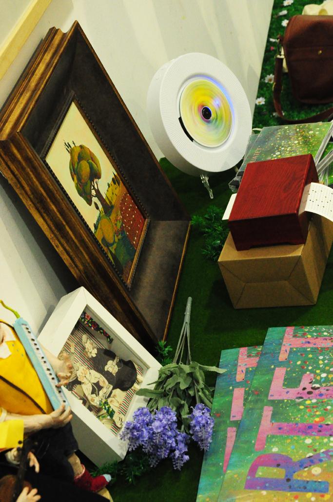 stuff on exhibition