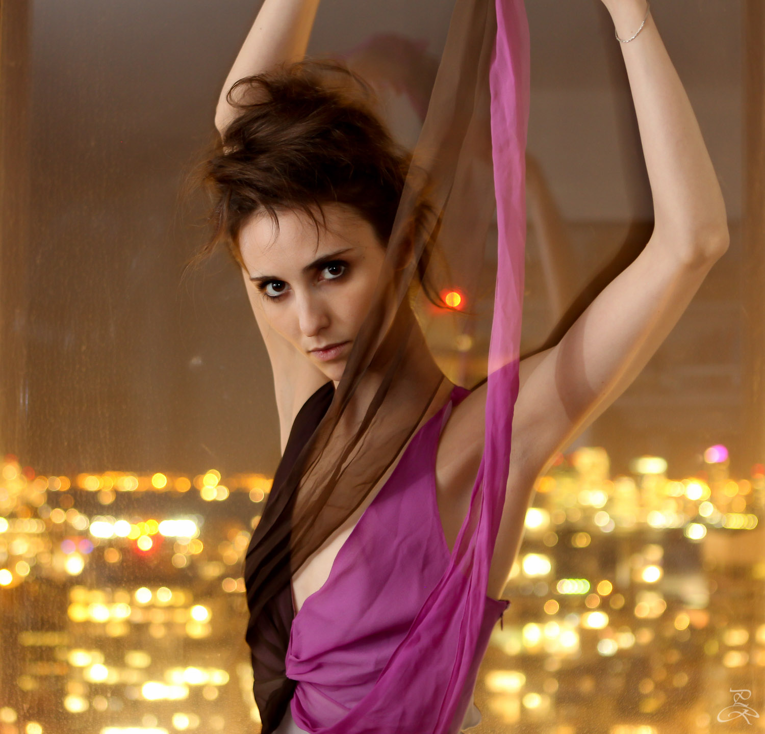 Giovanna Gamna -  model, classical dancer
