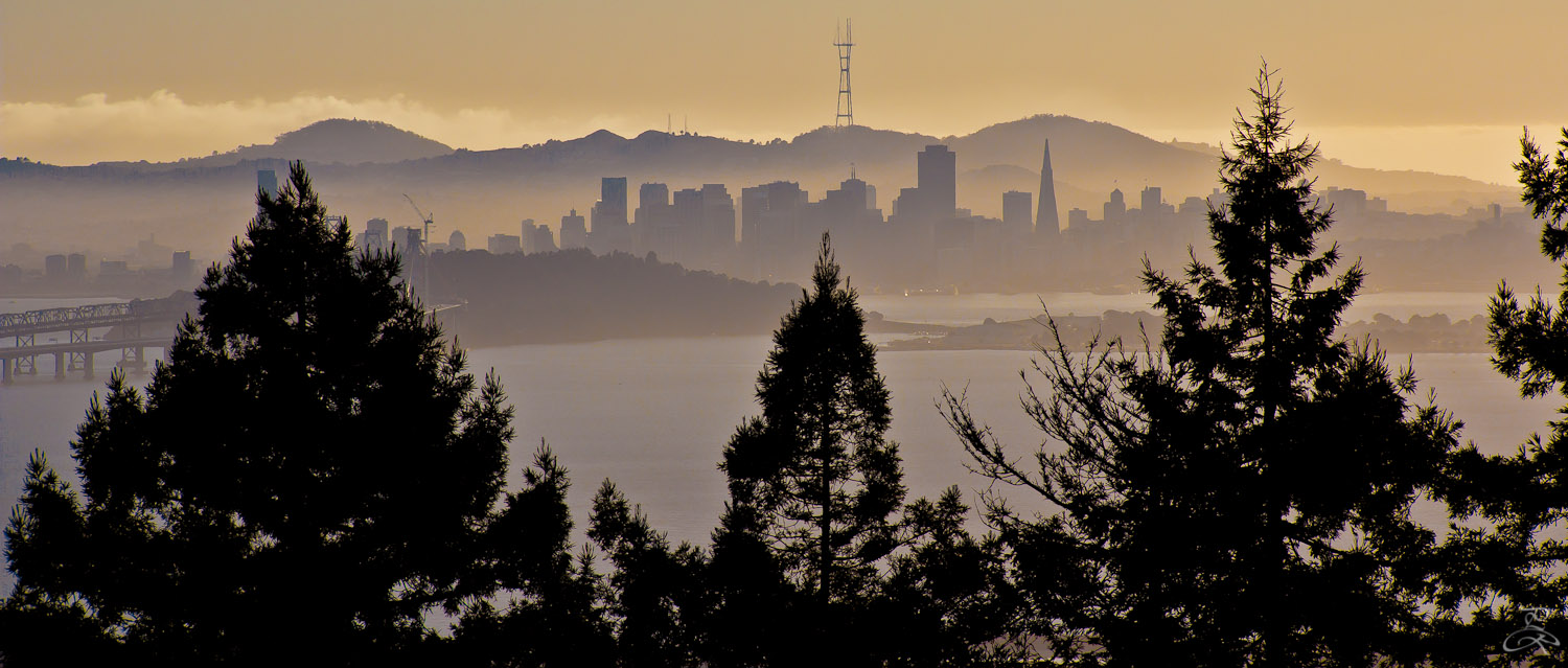 As seen from Berkeley, San Francisco, CA