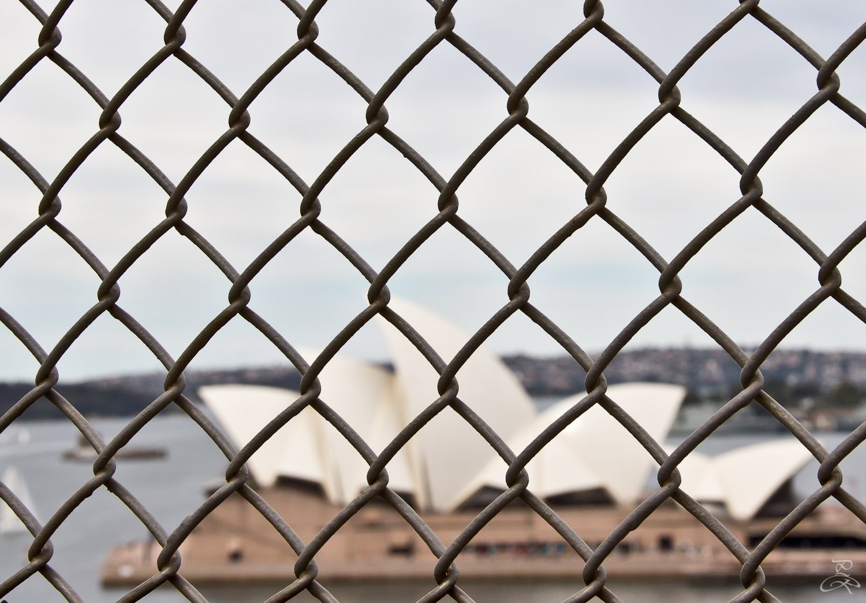 Caged Sydney. Australia.