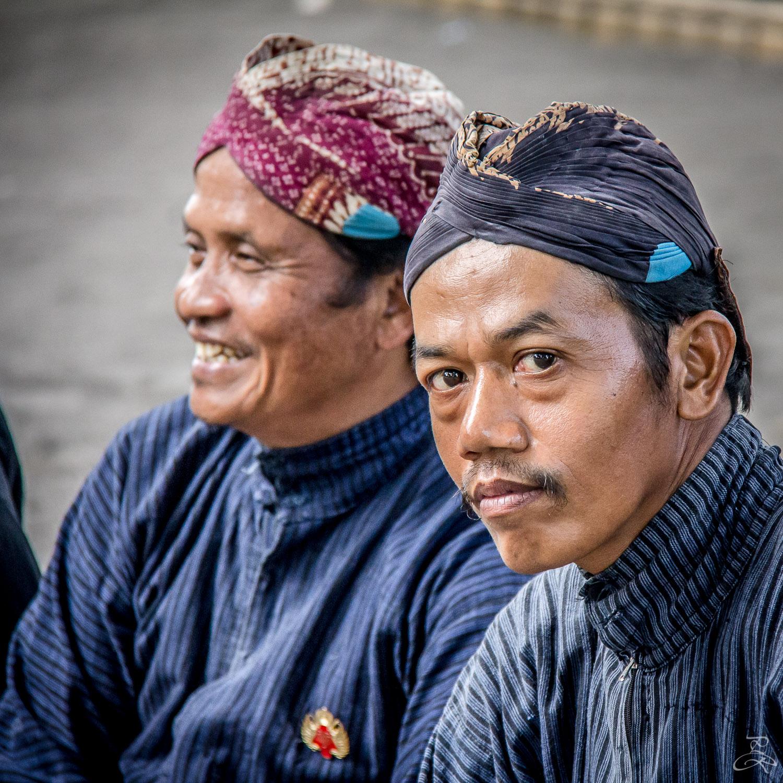Guards of the Royal Sultan Palace, Yogyakarta, Java