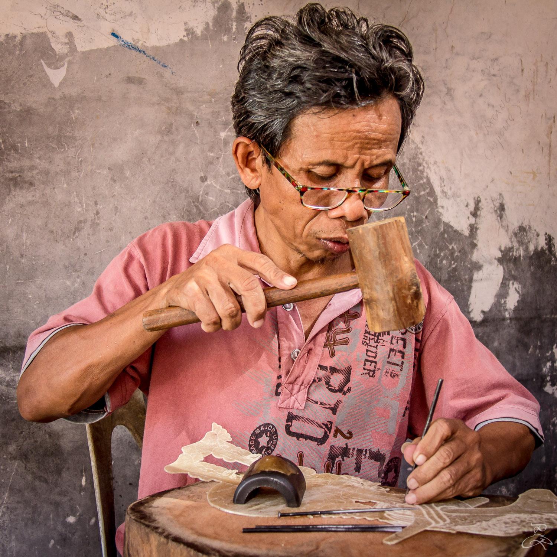 Puppet maker, Yogyakarta