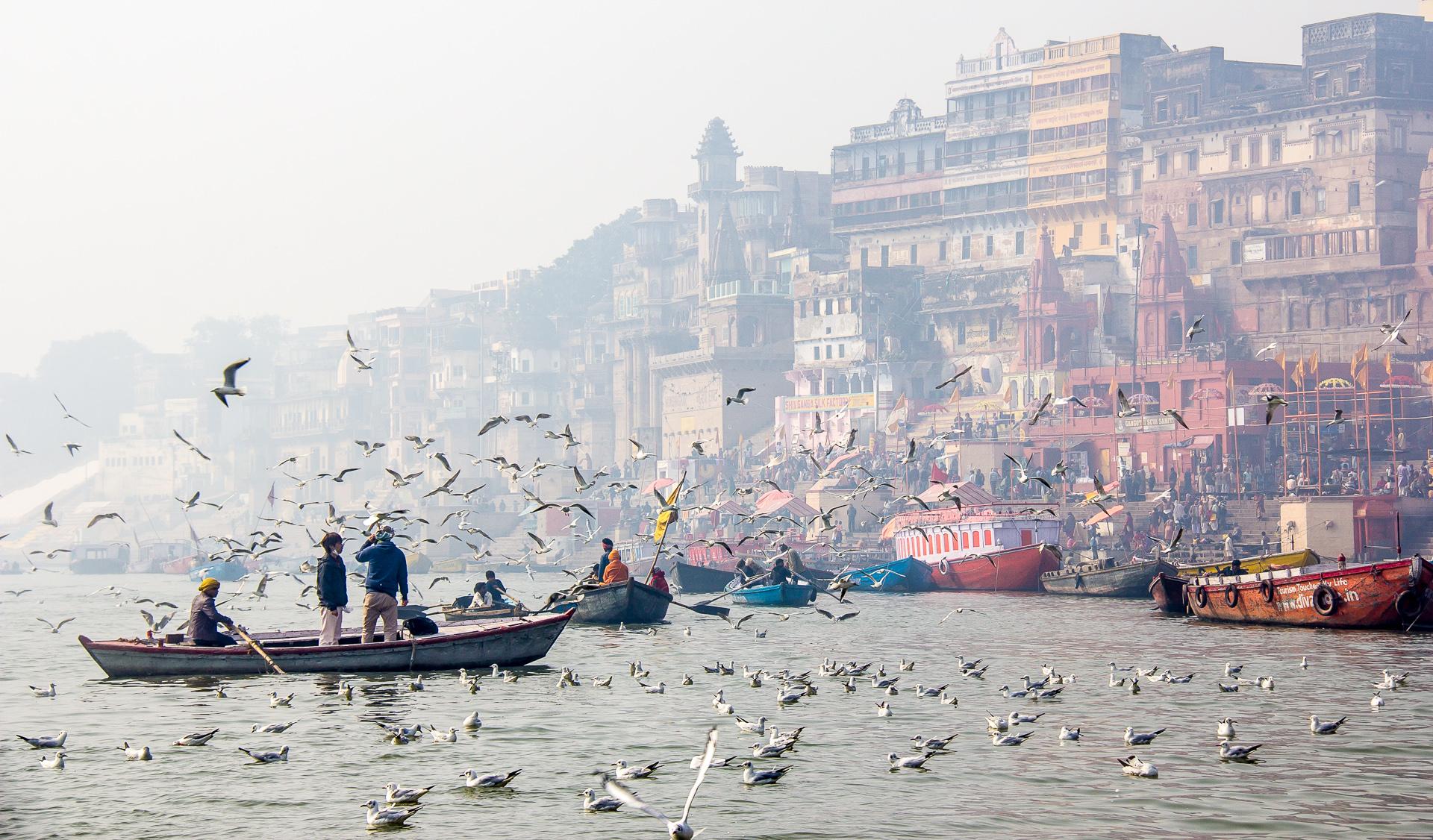 Varanasi, India. January 2015