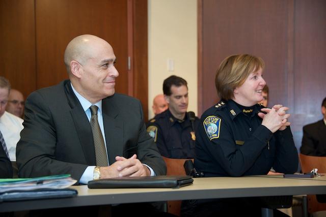 Deputy SUPERINTENDENT JOHN BROWN AND DEPUTY SUPERINTENDENT KELLY NEE