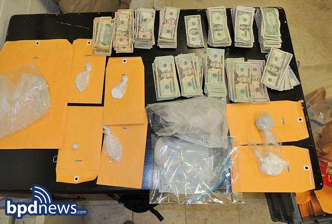 BPD Officers Seize 600 Grams of Heroin