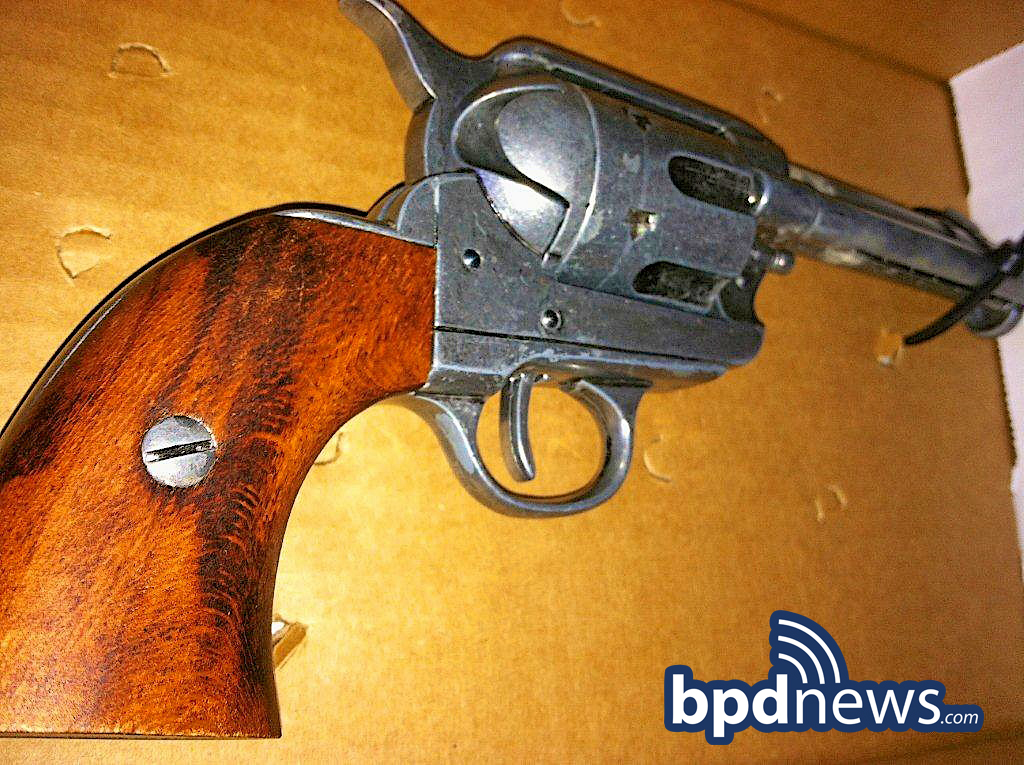 photo of firearm seized in incident #2