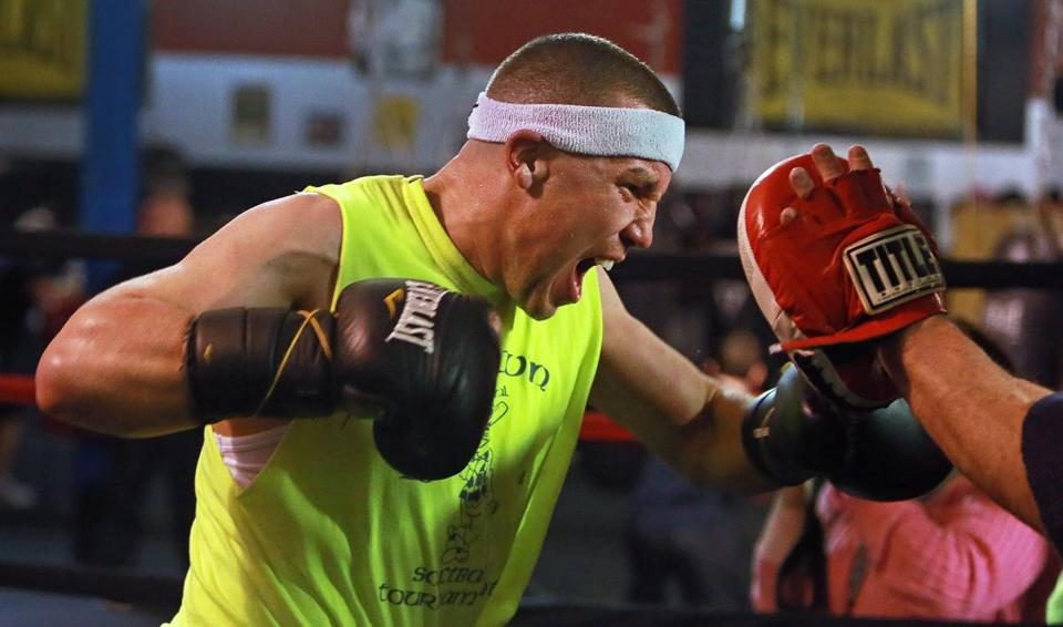 BPD's billy traft enters the ring with a 3-and-oh record