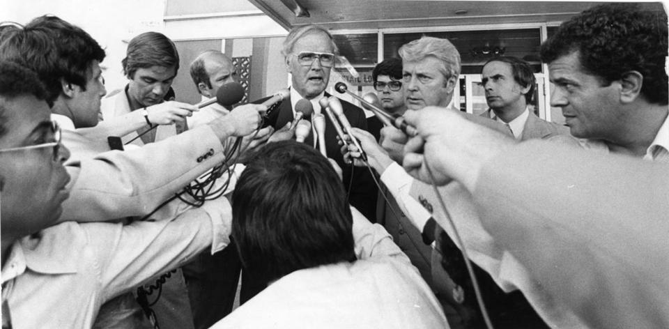 Photo Courtesy of Joseph Dennehy, Globe Staff, File 1980