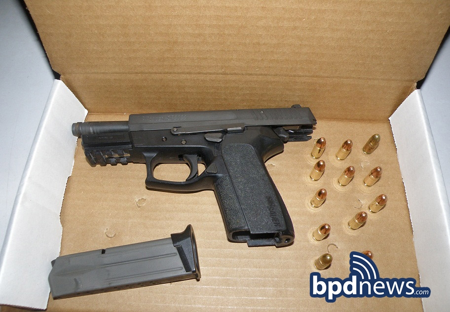 Keeping Boston Safe: BPD Officers Arrest Four & Confiscate