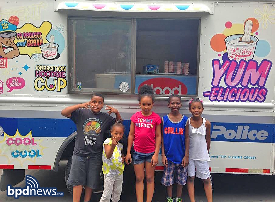 Nothing Says Summer Better than the BPD Ice Cream Truck