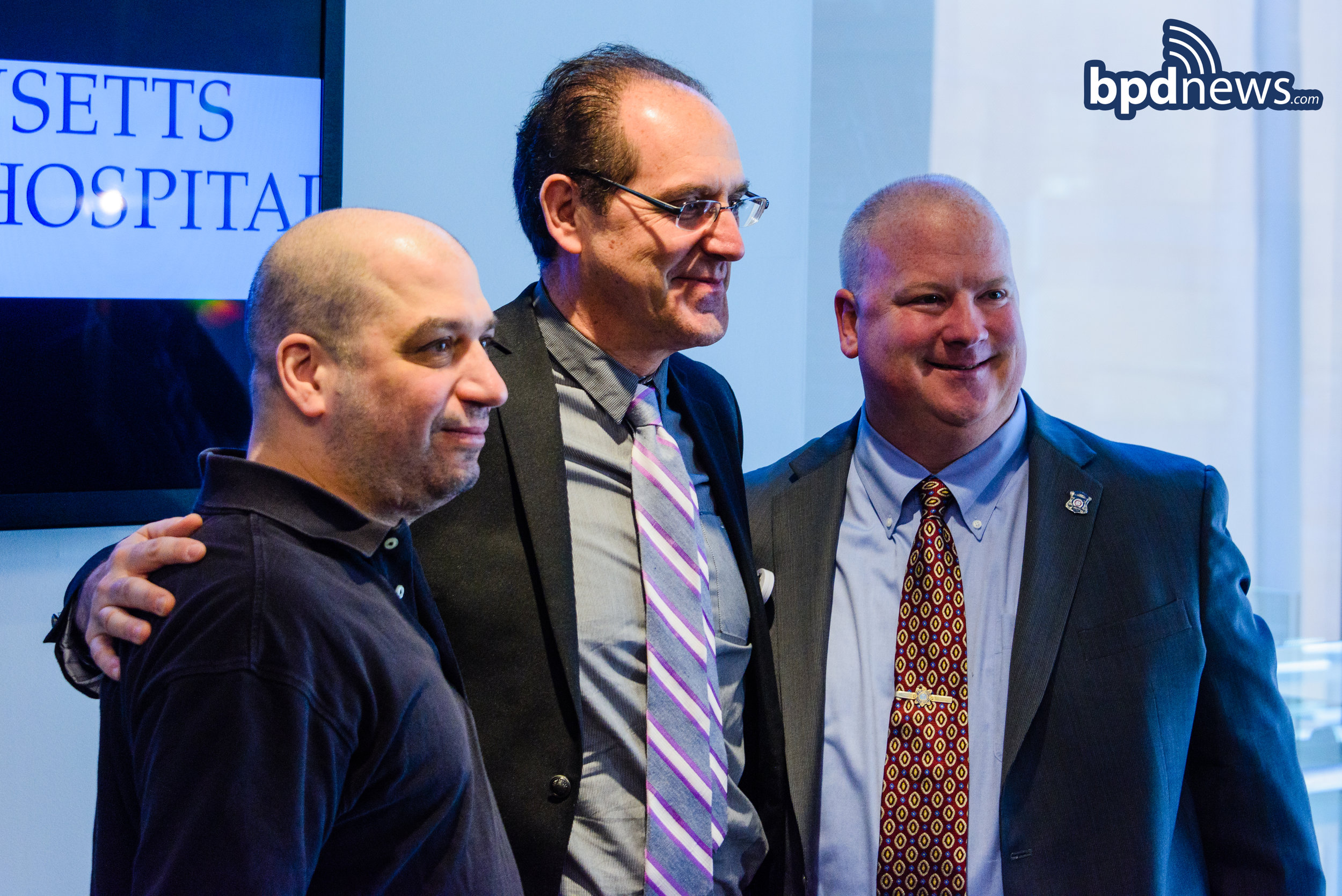 Wounded BPD Officers Thank MGH Surgeons Who Saved Their
