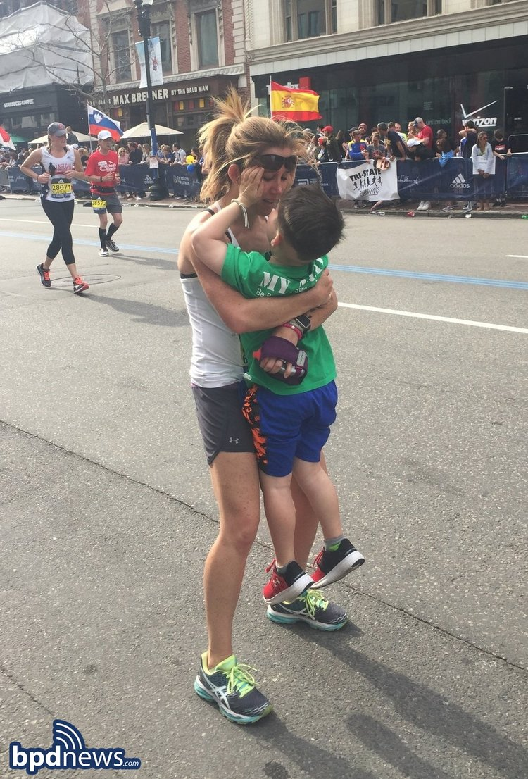 Boston Marathon 2017: Honorary Top Cop Devin Suau Happy to See his