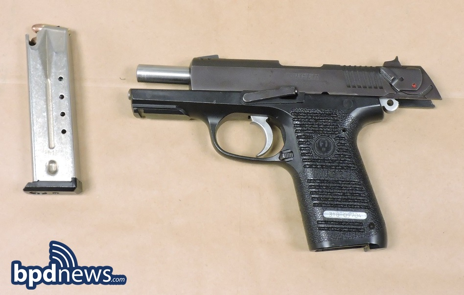 firearm seized during incident #4