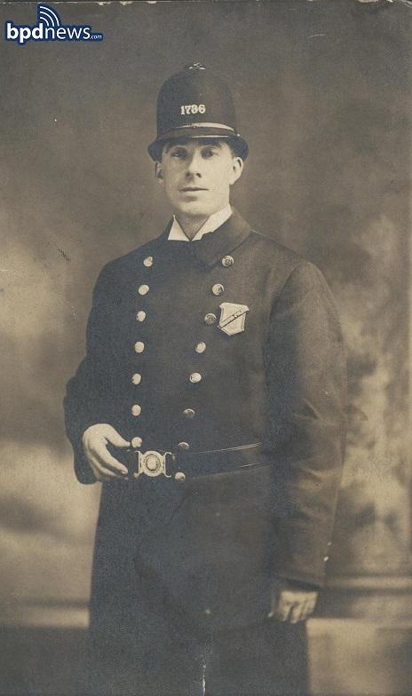 Boston Police Officer Darby Goode, circa 1919