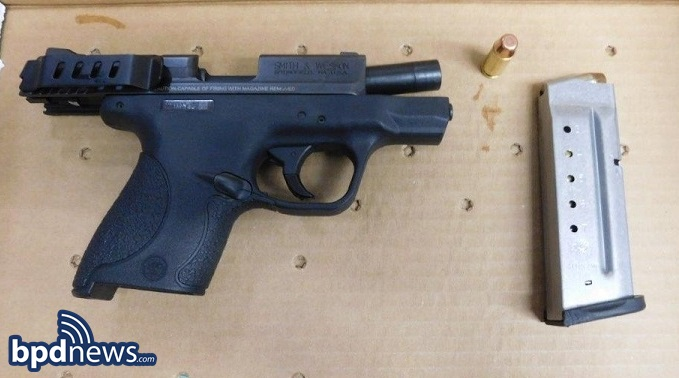 FIREARM SEIZED DURING INCIDENT #1