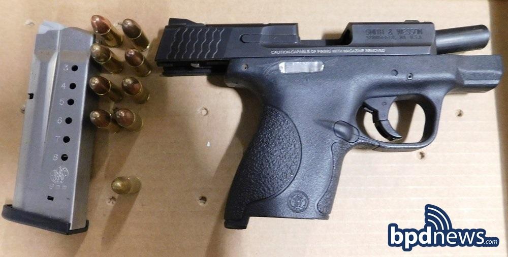 Firearm Seized Dur
