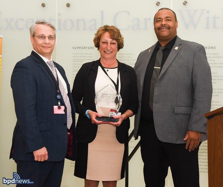 BPD in the Community: Commissioner Gross Honors Boston