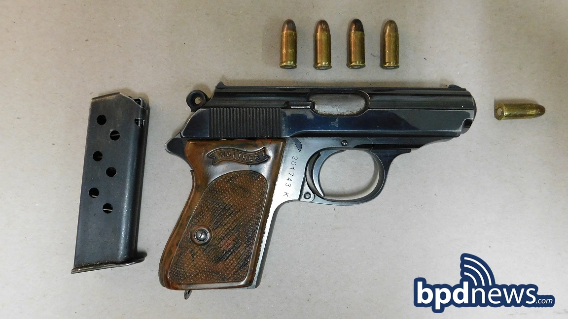 Suspect in Custody After BPD Officers Recover Loaded Firearm, Drugs