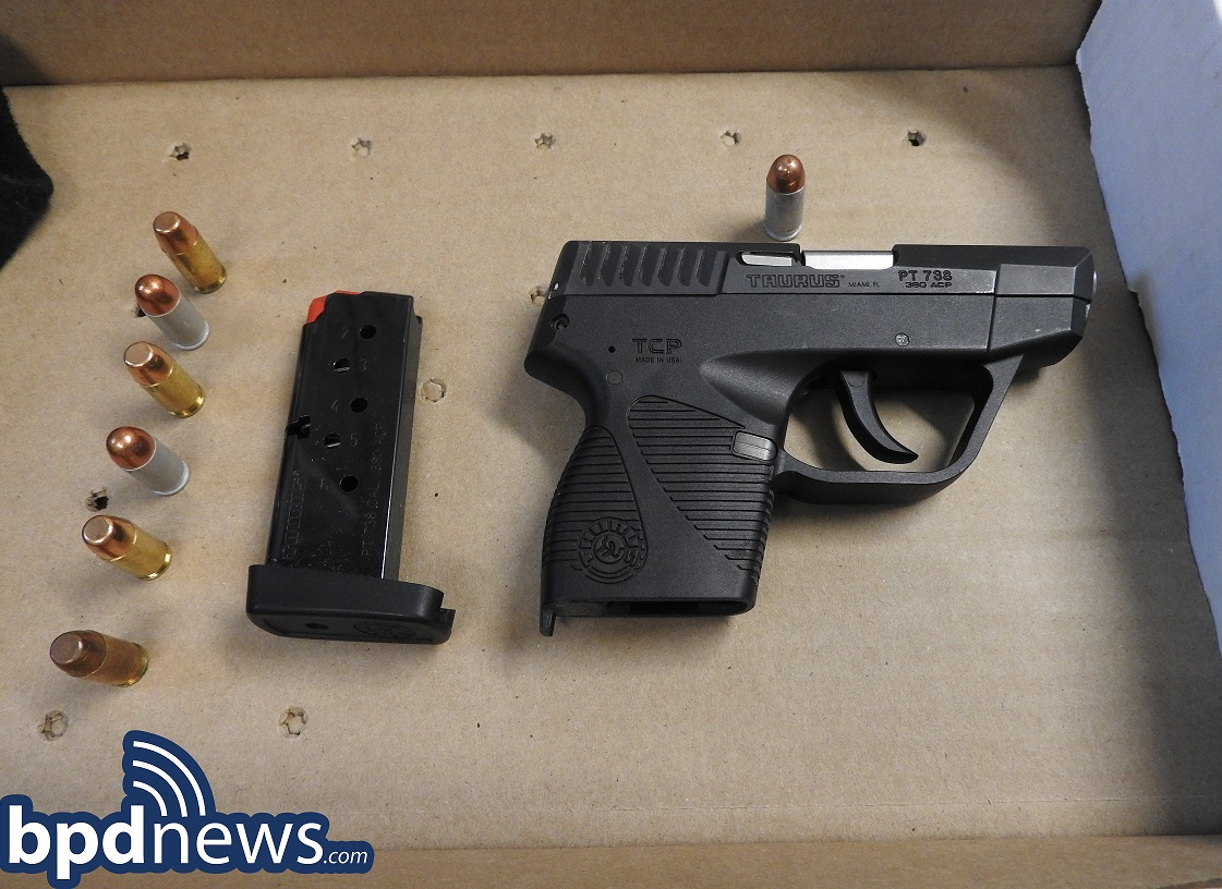 One Arrested and Two Loaded Firearms Recovered During