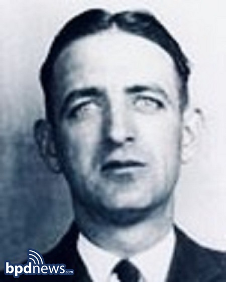 The Boston Police Department Remembers the Service and Sacrifice of Officer Laurence V. Sheridan 84 Years Ago Today