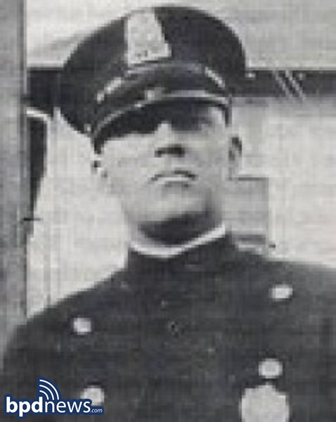 The Boston Police Department Remembers the Service and Sacrifice of Officer John Ivar Jackson 92 Years Ago