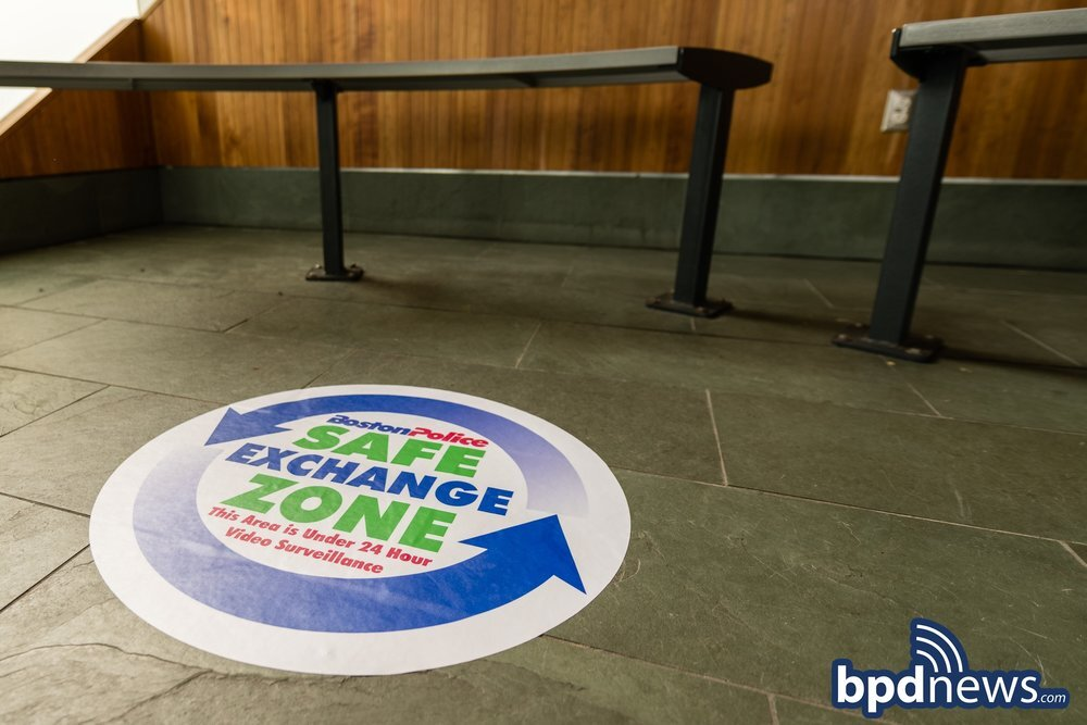 BPD Safe Exchange Zones for E-Commerce Transactions at All District Stations Across the City