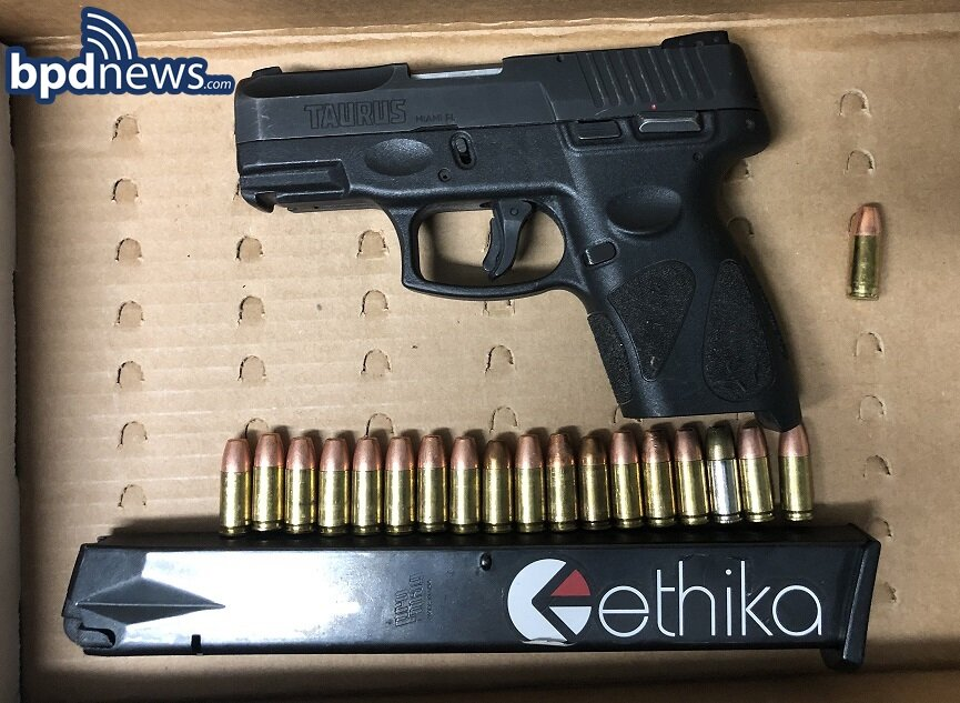 Officers Arrest Wanted Suspect and Recover a Loaded Firearm in Quincy