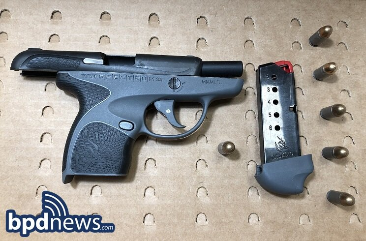 One Juvenile Under Arrest and a Firearm Recovered Following Shots Fired Call in Roxbury