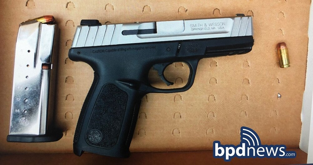 Officers Arrest One and Recover Loaded Firearm in the area of 330 Washington Street in Dorchester