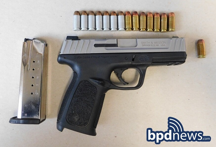 Suspect in Custody and Illegal Firearm Recovered After BPD Officers Investigate Illegally Parked Motor Vehicle in Dorchester