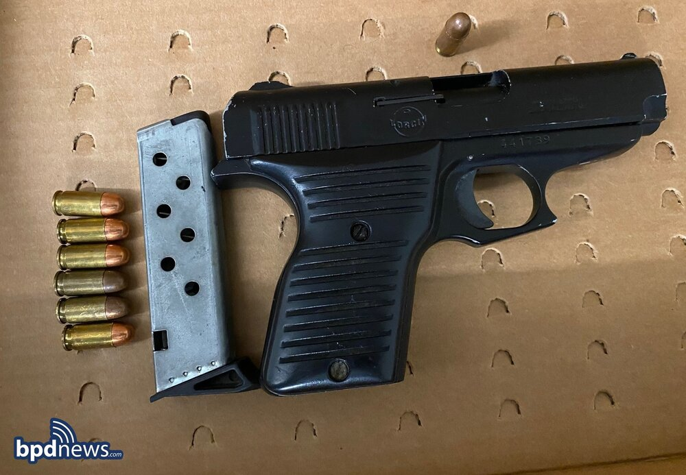 Two Under Arrest and Three Loaded Firearms Recovered in Charlestown