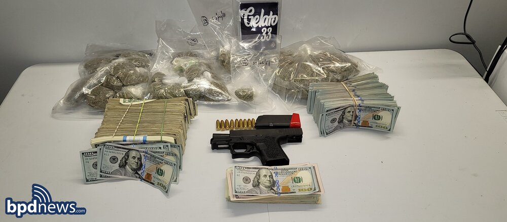 Search Warrant in Roxbury Leads to the Recovery of an Illegal Firearm, Drugs and US Currency