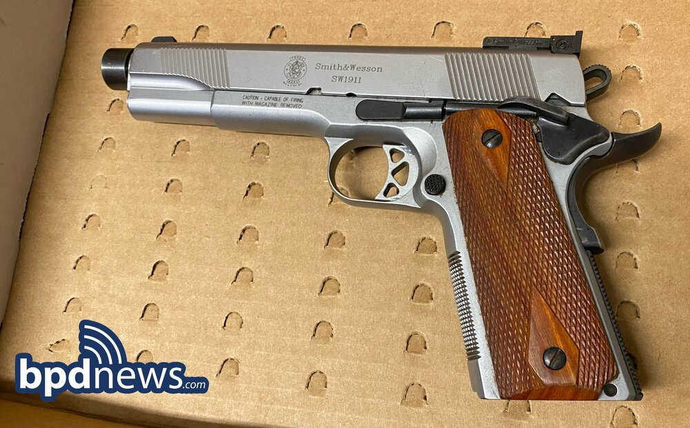 Traffic Stop in Roxbury Results in One Under Arrest and the Recovery of a Firearm and Drugs