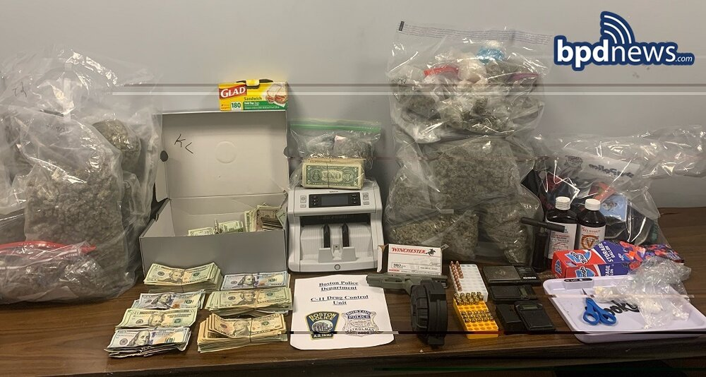 Search Warrant Execution Leads to Three Arrests Following the Recovery of Loaded Firearm, Drugs and Cash During Investigation in Dorchester