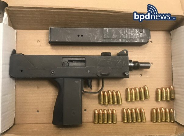 Warrant Arrest Results in the Recovery of an Illegal Firearm in Dorchester