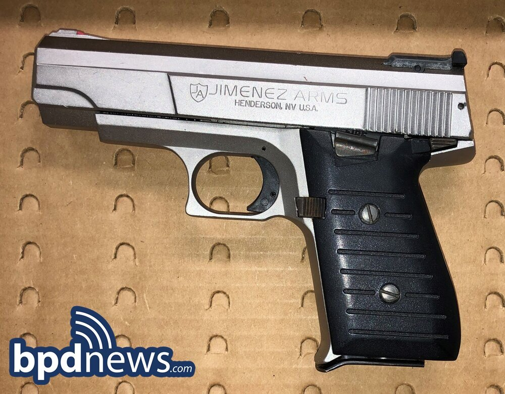Loaded Firearm Recovered Thanks to Observant Citizen in Mattapan