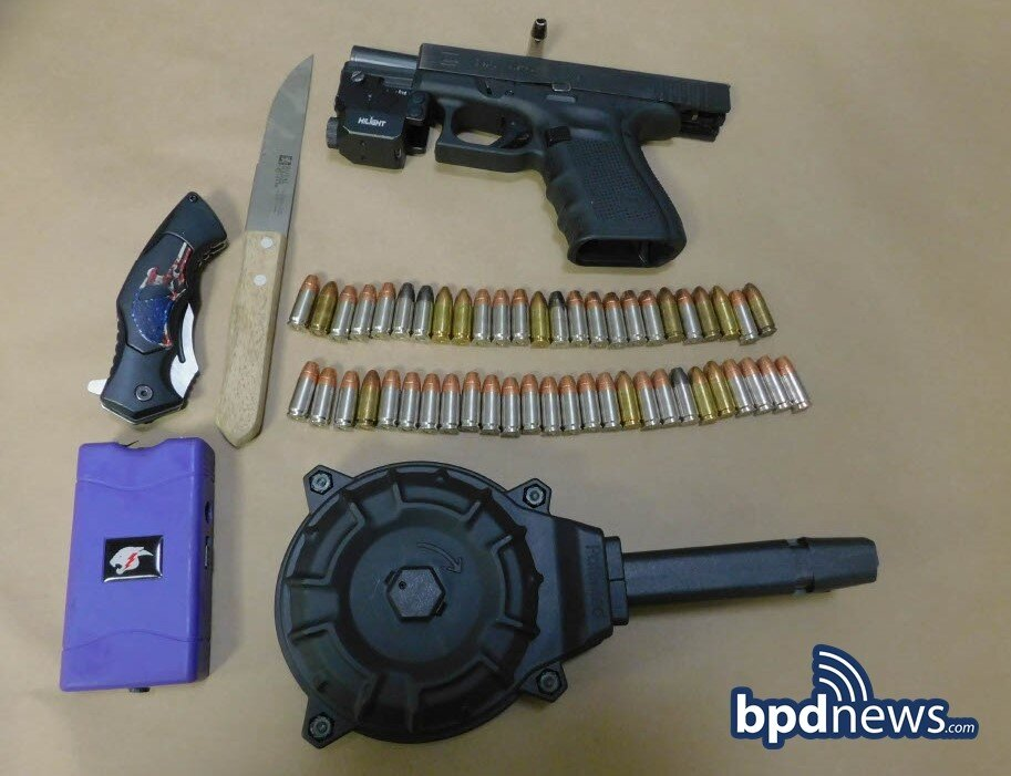 Fight Ends with Arrest and the Recovery of a Firearm with 51 rounds of Ammunition