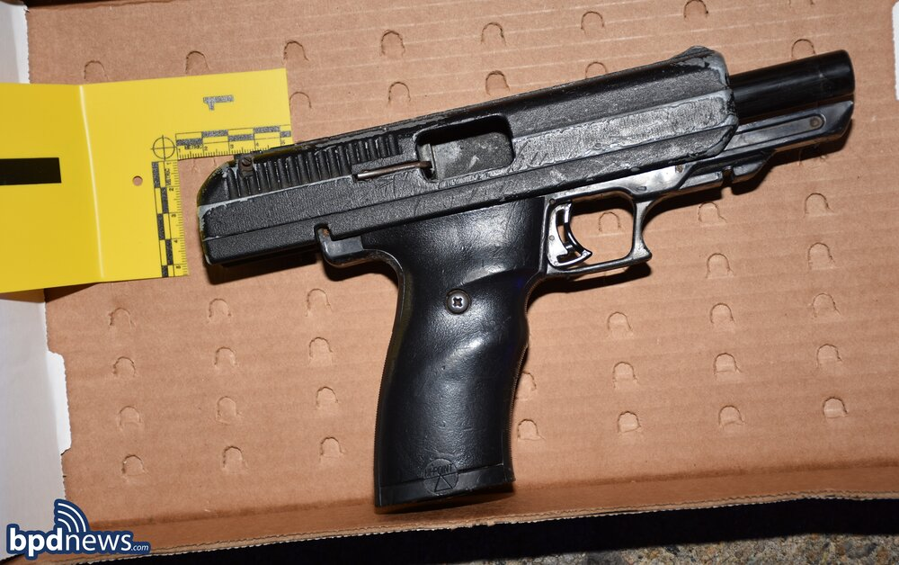 Officers Arrest One Suspect and Recover a Firearm after a Traffic Stop in Dorchester