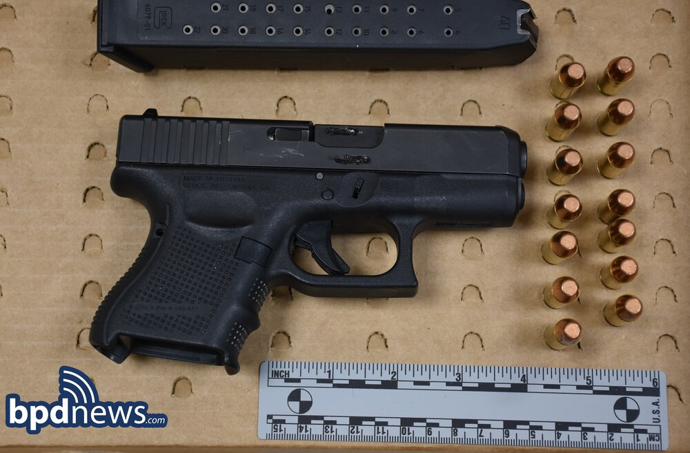Officers Recover an Illegal Firearm and Arrest One Following a Traffic Stop in Dorchester