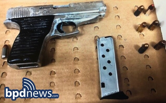 BPD Officers Recover Discarded Firearm in Jamaica Plain
