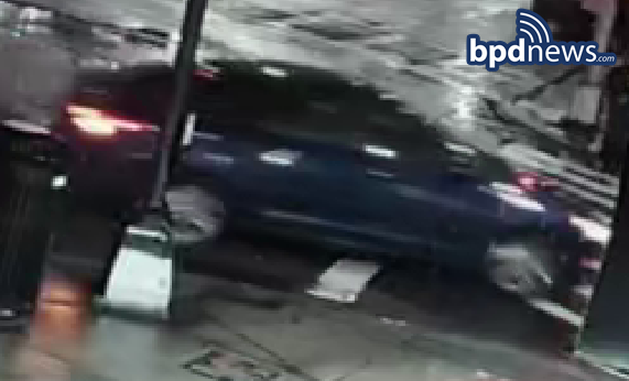 BPD Community Alert: Investigators Seeking the Public's Help in Efforts to Locate Motor Vehicle Wanted in Connection to Leaving the Scene of an Accident in Dorchester