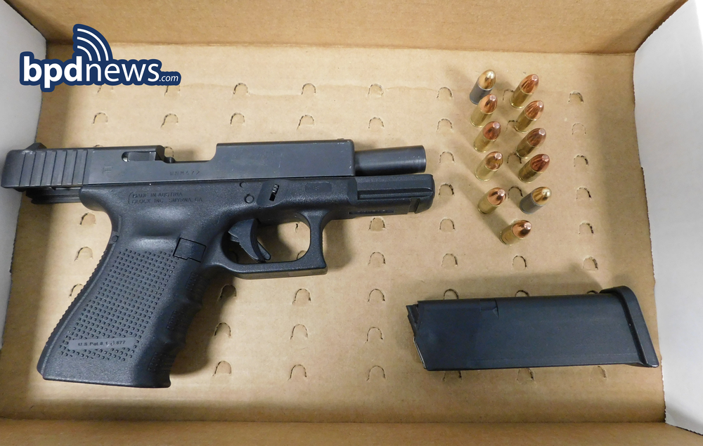 Three in Custody and a Firearm Recovered Following Call for Person with a Gun in Dorchester