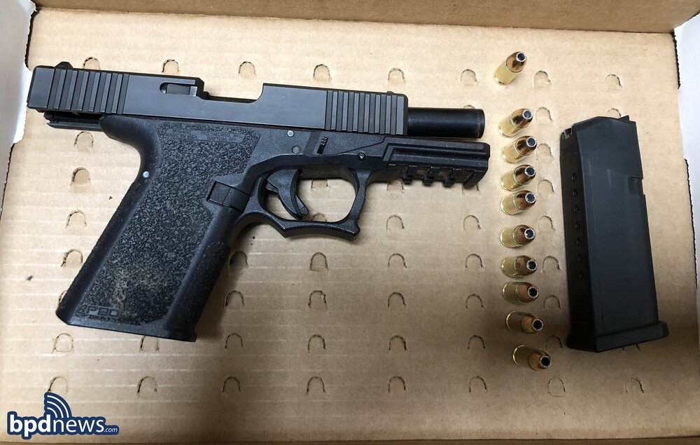 Officers Arrest Two Suspects after a Traffic Stop in Dorchester Leads to the Recovery of a Loaded Firearm