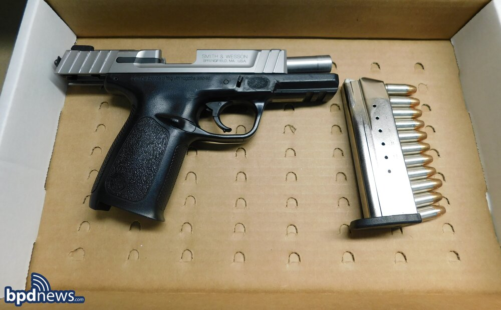 Officers Make a Warrant Arrest that Leads to the Recovery of a Firearm and Drugs